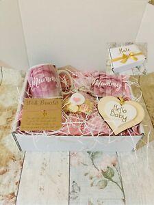 Personalised Mum To Be Gift Box Hamper Mummy Baby Shower Basket
