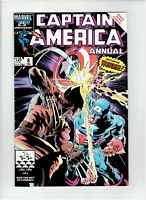 Captain America Annual #8 1986 Wolverine Mike Zeck