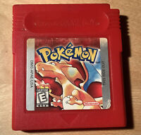 Authentic Pokemon Red Version Nintendo GameBoy Game GBC - Tested - Works & Saves