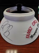 Signed 1996 Family Circle Magazine Cup Jana Novotna White Visor Hat Women's RARE