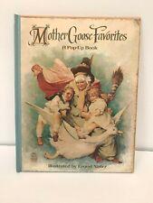 Mother Goose Favorites POP UP BOOK Children's Ernest Nister Illustrator Classic