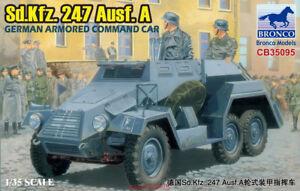 Bronco CB35095 1/35  German Sd.kfz.247 Ausf. A Armored Command Car