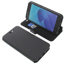 Funda para Asus ZenFone 4 SELFIE Lite Book Style Funda protectora libro negro