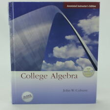 New Sealed College Algebra with MathZone Instructor's Edition 978-0-07-326893-4