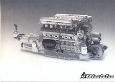 LAMBORGHINI DIABLO V12 Engine STAMPA UFFICIALE FOTO