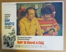 HOW TO FRAME A FIGG MOVIE POSTER LOBBY CARD #4 1971 ORIGINAL 11x14 DON KNOTTS