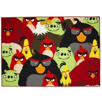 Kinderteppich Angry Birds 133 x 95 Kinder Teppich Disney Foule