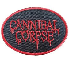 CANNIBAL CORPSE Iron On Patch Embroidered Sew on Transfer Brand New Zombie Patch