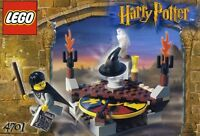 LEGO HARRY POTTER 'SORTING HAT' 4701 WITH HOGWARTS UNIFORM FIGURE 100% COMPLETE