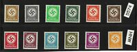 #5574   MNH  WWII emblem stamp set / 1934 & 1942 / Third Reich / WWII Germany