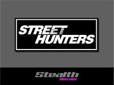 Street Hunters Drift Slap Sticker Decal, Stance, Initial D