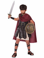 Spartan Warrior Roman Greek Warrior Hercules Gladiator Medieval Boys Costume M