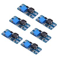 6pcs MT3608 DC 2A Step Up Power Module 2v-24v Boost Converter for Arduino Q7L5