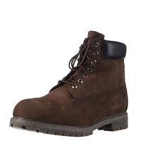 Timberland 6 Inch Premium Dark Brown Men's Waterproof Boots 10001