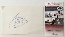 Levi Stubbs Signed Autographed 4x6 Card JSA Certified Four Tops