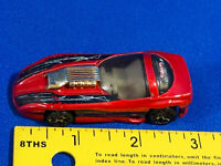Vintage Hot Wheels 1993 Spectraflame II Red Toy Diecast Car Toy Concept Race