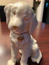 Lenox Labrador Retriever Puppy Dog With Gold Heart Collar - Collector's Figurine