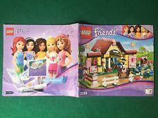 (Q5) LEGO FRIENDS 3189/2 CATALOGO MONTAGGIO STALLA CAVALLI Brochure KATALOG