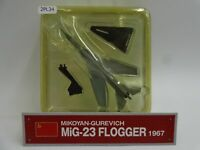 Del Prado MIG 23 Flogger 1967 1/136 Scale War Aircraft Diecast Display 2PL34