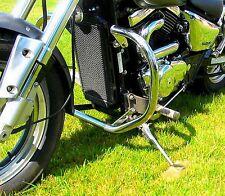 SUZUKI VZ 800 MARAUDER DESPERADO STAINLESS STEEL CLASSIC CRASH BAR ENGINE GUARD