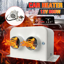 New Listing24V 800W Portable Dual Heating Heated Heater Fan Defroster Demister For