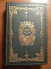 ALESSANDRO MANZONI OPERE VARIE REDAELLI MILANO 1870 ILLUSTRATO BELLA LEGATURA