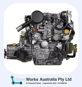 Yanmar 3YM30 Reconditioned Engine 12 Months WTY - Exchange or Rebuild