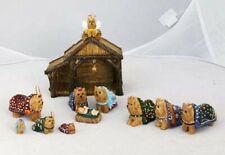 Heaven's Paws Yorkie Nativity Set