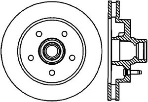 StopTech 127.66011L StopTech Sport Rotor Fits 90-03 C1500 Pickup P30