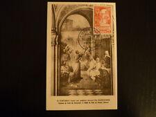 FRANCE PREMIER JOUR FDC YVERT 926   ABBAYE DE ST CROIX   15F   POITIERS   1952