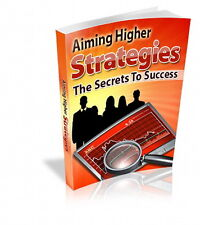 The Secret To Success - AIMING HIGHER STRATEGIES - Accomplish Your Goals (CD-ROM