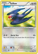 4x Pokemon XY Taillow 102/146 Common Card
