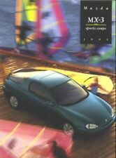 1995 Mazda MX-3 Sports Coupe Sales Catalog