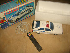 AUDI QUATTRO POLICE #M42#  REMOTE CONTROLLED BY MISTER P 1970's
