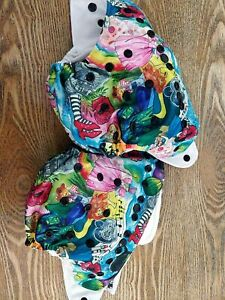 2x Designer Bums GUC Wizard Of Oz With Insert resusable nappy MCN Modern Cloth