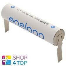 PANASONIC ENELOOP RECHARGEABLE AAA HR03 BATTERY WITH U-SHAPED SOLDER TABS 1.2V