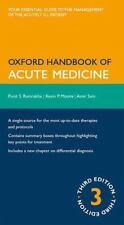 Ramrakha, Punit-Oxford Handbook Of Acute Medicine  (UK IMPORT)  BOOK NEW