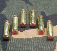45 LONG COLT SNAP CAPS  SET OF 6, BRASS, REAL WEIGHT!!! 45LC 45 COLT