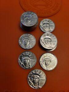 1999 American Platinum Eagle BU 1/10 oz Statue of Liberty US Mint Beautiful Coin