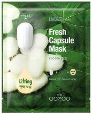 K-Beauty] THE OOZOO Fresh Capsule Mask Cocoon Silk (28.5ml X 4sheets)