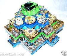 Pyramid Orgonite Orgone Healing Crystals  Ornament Decoration gift aztec mayan