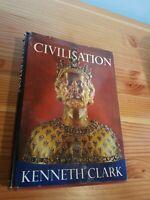 Civilisation by Kenneth Clark HC, DJ 1st edition 1969