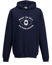 Make Orwell Fiction Again- 1984 Doublespeak is Here- Hoodie Sweat