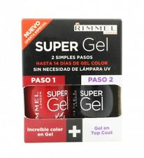 RIMMEL SUPER GEL GIFT SET 12ML ROCK N ROLL + 12ML TOP COAT - WOMEN'S FOR HER