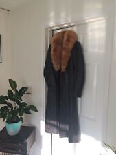 Brown Leather Vintage Penny Lane Coat 8