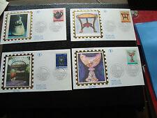 FRANCE - 4 enveloppes 1er jour 22/1/1994 (arts decoratifs) (cy45) french