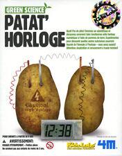 4M KidzLabs Patat' Horloge / Potato Clock DIY à monter soi-même