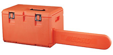 20 In. Chainsaw Case Storage Compartment Box Tool Chest Durable Rust Protection