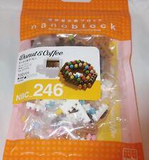 Kawada nanoblock Mini Donut & Coffee - japan building toy block NEW NBC_246