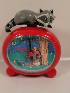 Disney Pocahontas Alarm Clock Battery Operated Mid 1990's Meico Working